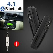 Wireless Bluetooth4.1 3.5mm AUX Audio Stereo Music Home Car Receiver Adapter