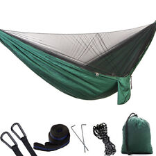 Automatic quick opening Hammock with Mosquito Net Parachute Fabric for 2 Persons
