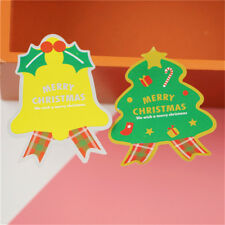 40Pcs Merry Christmas package Seal Sticker Xmas bell Gift Label Stic PLHN