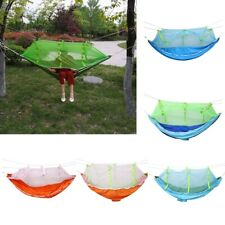 Portable Jungle Parachute Hammock Camping Outdoor Hanging Bed With Mosquito Net