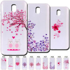 Fashion Clear Back TPU Painted Silicone Skin Soft Case Cover For Samsung Galaxy