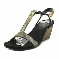 Style & Co. Womens Mulan2 Open Toe Special Occasion Strappy Sandals, Black / Go