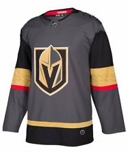 ADIDAS AUTHENTIC PRO VEGAS GOLDEN KNIGHTS HOME JERSEy