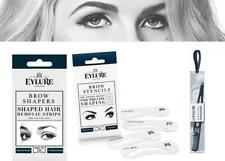 Eylure Eyebrow Shaping Stencils Shaped Hair Removal Strips Tweezers Perfect Brow