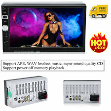 2 Din 7 Inch HD Touch Screen Bluetooth DVD Car Stereo