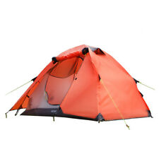 Rainproof Camping Tent Double Layer Tent for 2 to 4 Persons