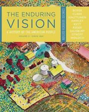 The Enduring Vision Vol. II : A History of the American People, since 1865 by...