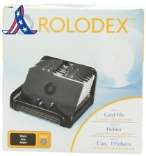 "Rolodex Card File, Mesh Open Business Card File 125-Cards 2-1/4"" X 4"", Box Of 1,"