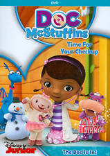 Doc McStuffins: Time for Your Check Up The Doc is In (DVD, 2013) NEW IN SHRINK
