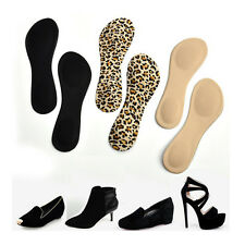 Heel Foot Cushion/Pad 3/4 Insole Shoe pad For Women Orthotic Arch Support PLC