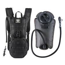 Tactical Hydration Backpack With 3L Water Bladder Bag For Cycling Climbing