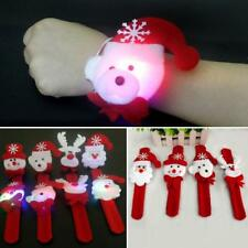 Christmas Clap Circle Pat Hand Ring Christmas Bracelet New Year Party Child Gift