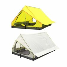 Windproof Large Camping Tent Waterproof Canopy Outdoor Sunshade Shelter Portable