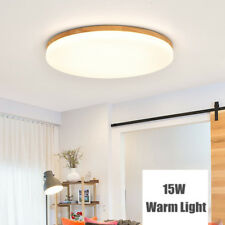 15W Modern Round LED Ceiling Down Light Bedroom Lamp Surface Mount Fixture 1