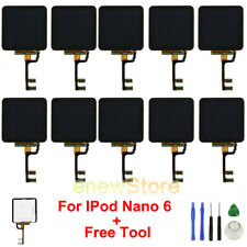 LOT LCD Display Screen +Touch Glass Digitizer Assembly +Tool for IPod Nano 6 USA