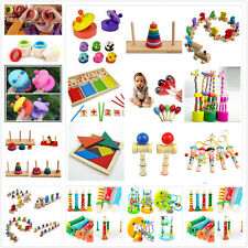 Wooden Toy Baby Kid Children Intellectual Developmental Educational Cute Toys B$