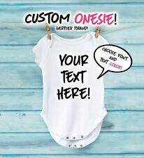 Custom Newborn Onesie