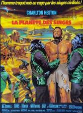 Vintage Planet of the Apes French Release Poster//Classic Movie Poster//Movie Po