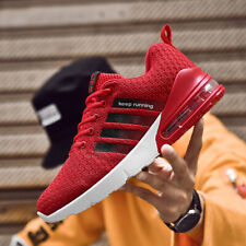 Men's Breathable Running Shoes Sports Air cushion Casual Retro Training Sneakers
