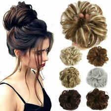 Hair Bun ,Drawstring Claw Comb Ponytail, Messy Chignon ,Updo Ponytail ,Scrunchie