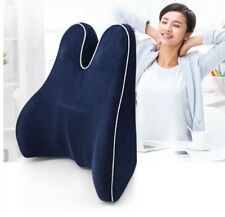 Orthopedic Lumbar Support Pillow, Back Cushion with Memory Foam, Back Pillow