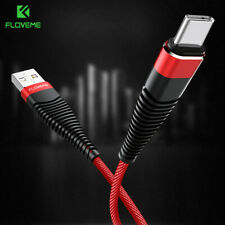 USB C Type C Nylon Fast Charging Data Sync Charger Cable For Samsung S10 S9 S8