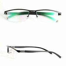 Mens Half Rimless Reading Glasses Metal Readers 1.0 1.5 2.0 2.5 3.0 3.5 KFA42