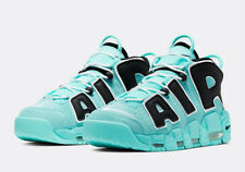 Nike Air More Uptempo '96 QS Light Aqua Black CN8118-400 Mens GS 3.5Y-13 IN HAND