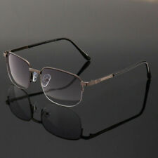Bifocal Tinted Half Rimless Reading Glasses Readers Mens Womens 1.0 ~ 4.0 KFA463
