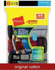 6-Pack Hanes Men's FreshIQ Sport-Inspired Boxer Briefs - Assorted - Size S-XL