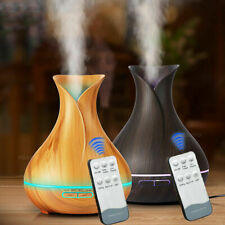 400ml Remote control Ultrasonic Air Humidifier Diffuser Essential Oil 7 LED Mist