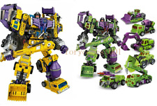 NBK Transformers Devastator Transformation Oversize Action Figure 6 in1 Xmas Toy