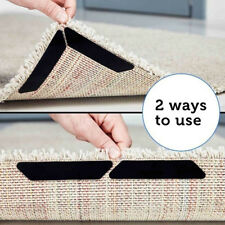 BE_ 8Pcs Reusable Rug Carpet Mat Curling Grippers Anti Slip Silicone Grip Skid T