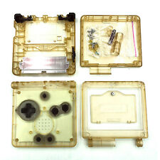 Transparent Advance Console Housing Shell Case Button Fit for GBA Game Boy SP