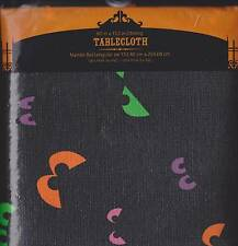 SPOOKY HALLOWEEN TABLE CLOTH Party Oil Oblong Round NEW