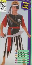PIRATE KING Boys Small (4-6) Halloween Costume Child Shipwrecked Fancy Dress NEW