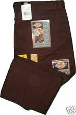 Dickies C798CB Iron Tough Twill Brown Pants W50 to 60