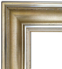 Antique Gold Leaf  Wood Picture Frame, Oil Painting