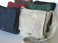 Hemp Bag ~ Simple, plain, natural ~ Six color options