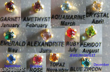 Studex Birthstone/Gems Ear Piercing Earrings jewelry#2