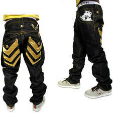 CLENCH JEANS RAW TIME IS HIP HOP MONEY STREET STYLE