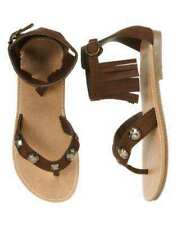 NWT Gymboree Malibu Cowgirl 11 12 13 1 3 Sandals Shoes