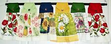 Hanging Kitchen Towel, Flower Themes - Collection #1