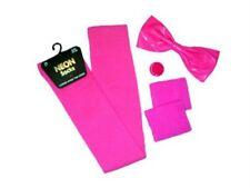 80s Fancy Dress Neon Girl School Disco Deal New!