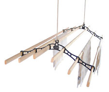 Six Lath Ceiling Pulley Maid Clothes Airer Kitchen Maid