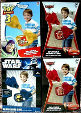 "DISNEY KIDS 16"" INFLATABLE BOXING GLOVES,TOY STORY,CARS,OR STAR WARS,KIDS 4+,NEW"