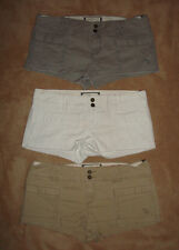 Abercrombie & Fitch Womens FALLON Shorts 3 Colors NWT