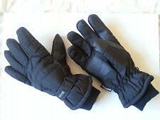 QUALITY MENS THERMAL PADDED SKI GLOVES VERY WARM,WATERPROOF,. ONE SIZE FITS ALL.