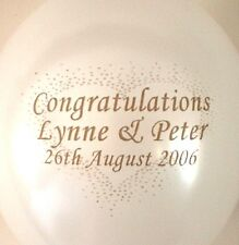 20 Engagement balloons with 20 printed  paper napkins