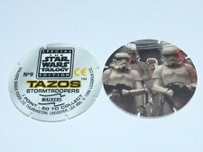 Star Wars Trilogy Tazos - Stormtroopers No 9 or Sandtrooper on a Dewback No 40